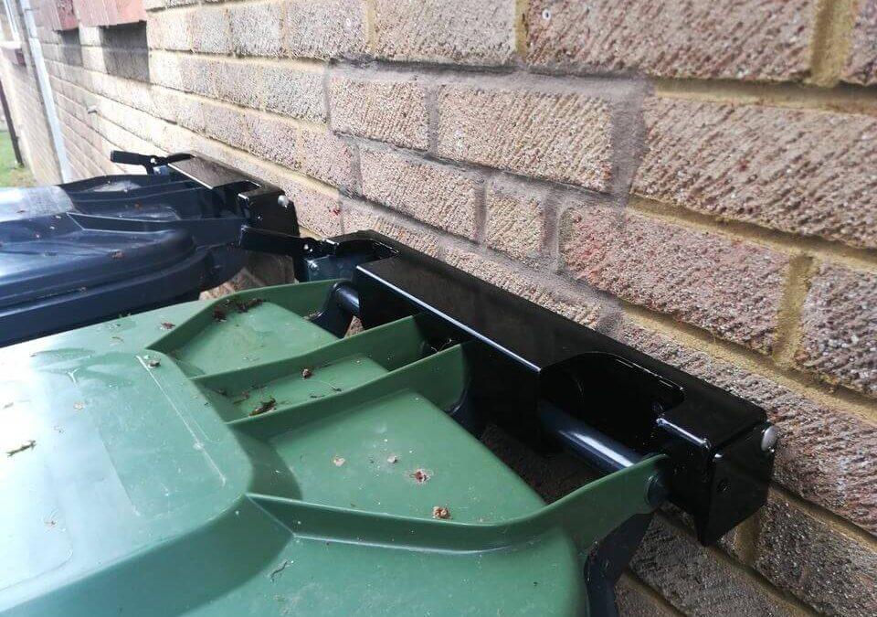 Secure wheelie bins
